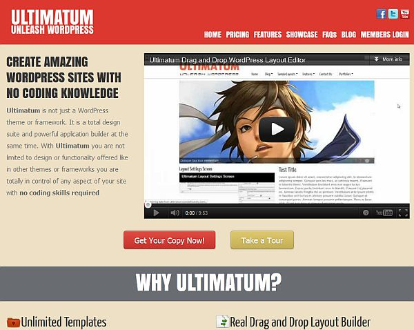 Ultimatum Theme – A First Look