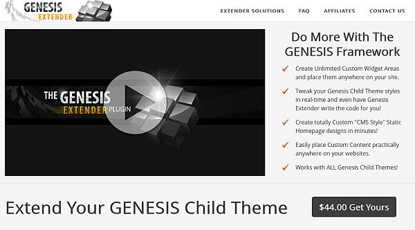 Customize Any Genesis Child Theme With The Genesis Extender Plugin