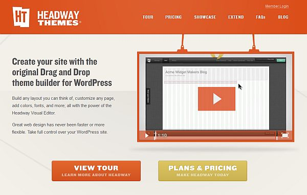 Headway Themes Drag and Drop Theme Builder for WordPress – A First Look