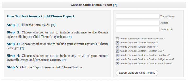 Create Your Own Genesis Child Theme with the Dynamik Website Builder – without Coding!