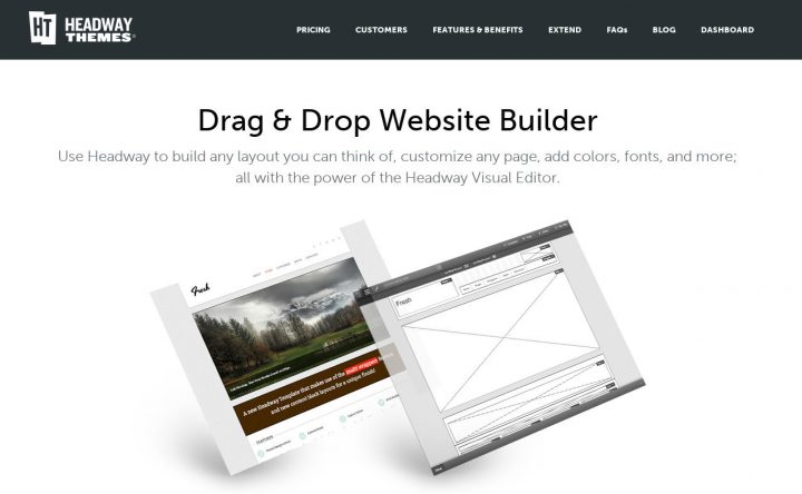 Headway Drag and Drop WordPress Website Builder