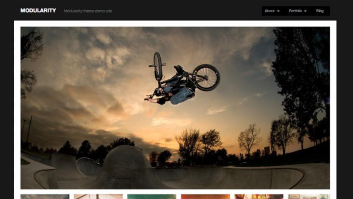 Modularity photo & multimedia theme framework