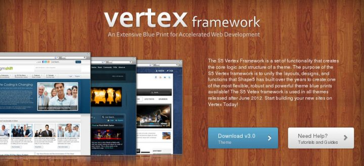 Vertex Framework for WordPress