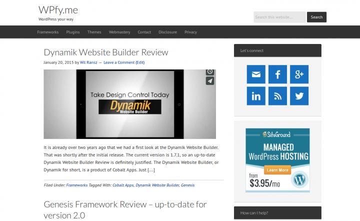 WPfy.me Dynamik Default