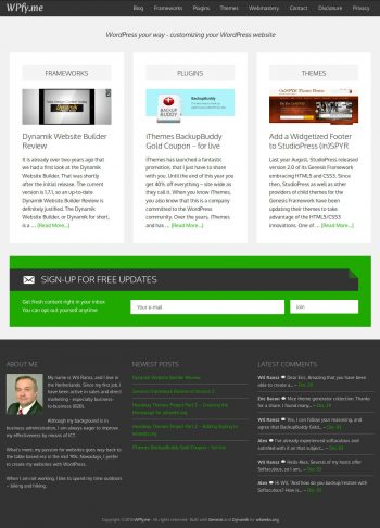 WPfyme Three Content Columns