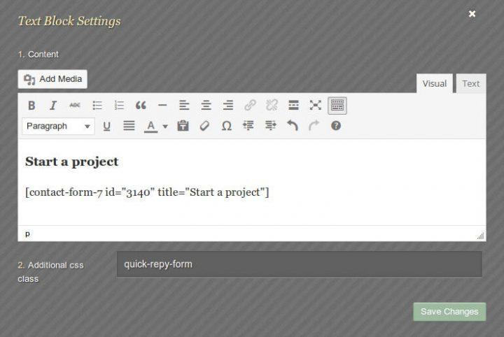 ElegantBuilder Homepage Start a project