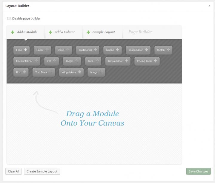 ElegantBuilder Layout Builder Modules