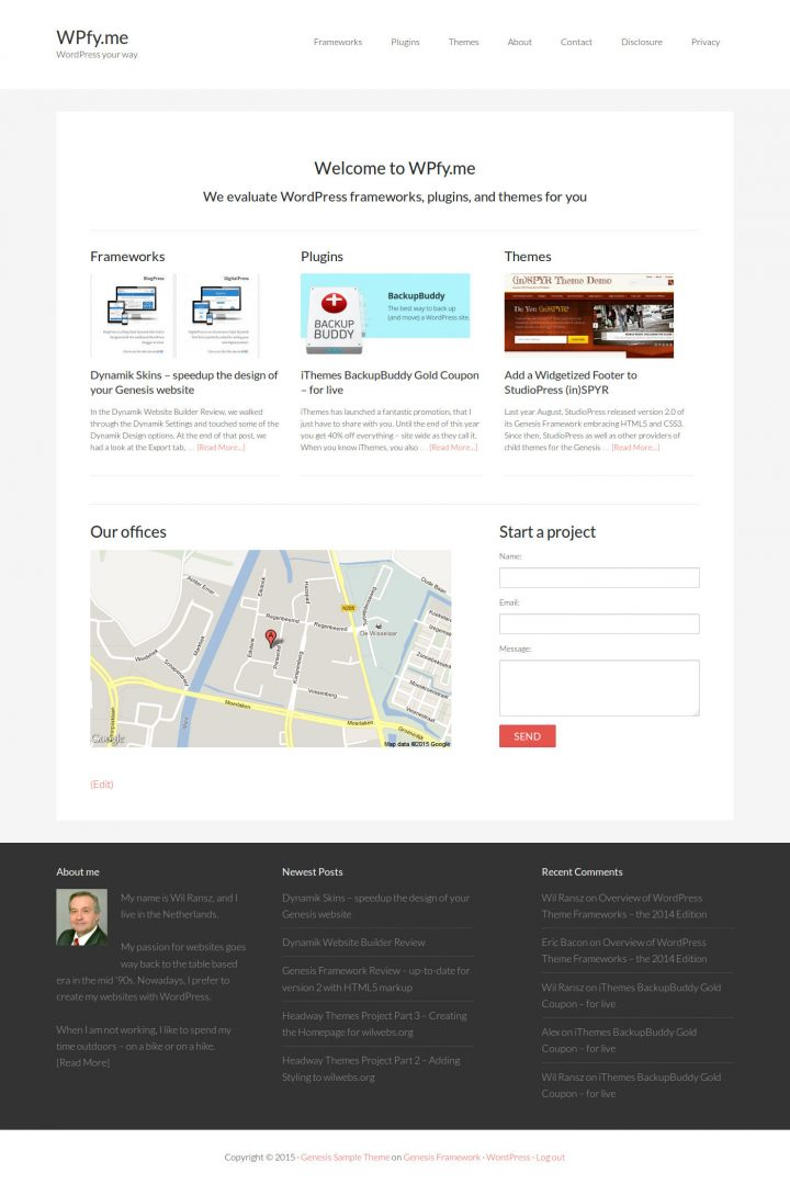 ZOOM Builder Homepage Frontend