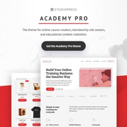 StudioPress Academy Pro, Theme of the Month